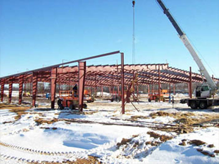 Commercial and industrial construction and building services – South Bend, IN